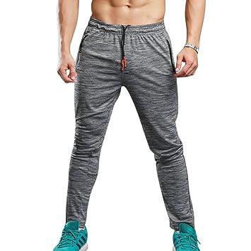 Fitness & Jogging Sweatpants Jogginghose Sporthose Freizeithose grau