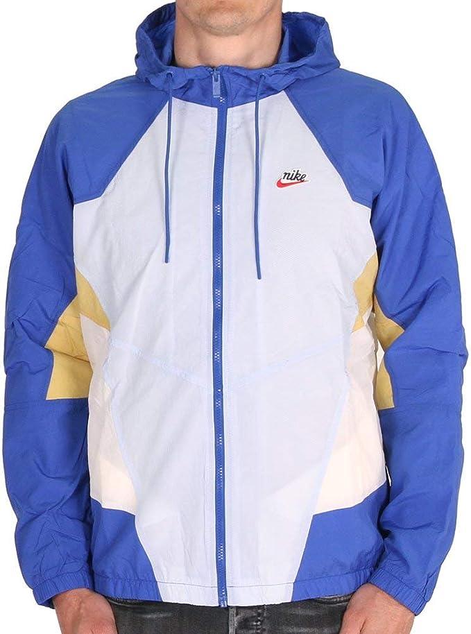Nike NSW Heritage Windrunner Jacket Woven Signature Hydrogen