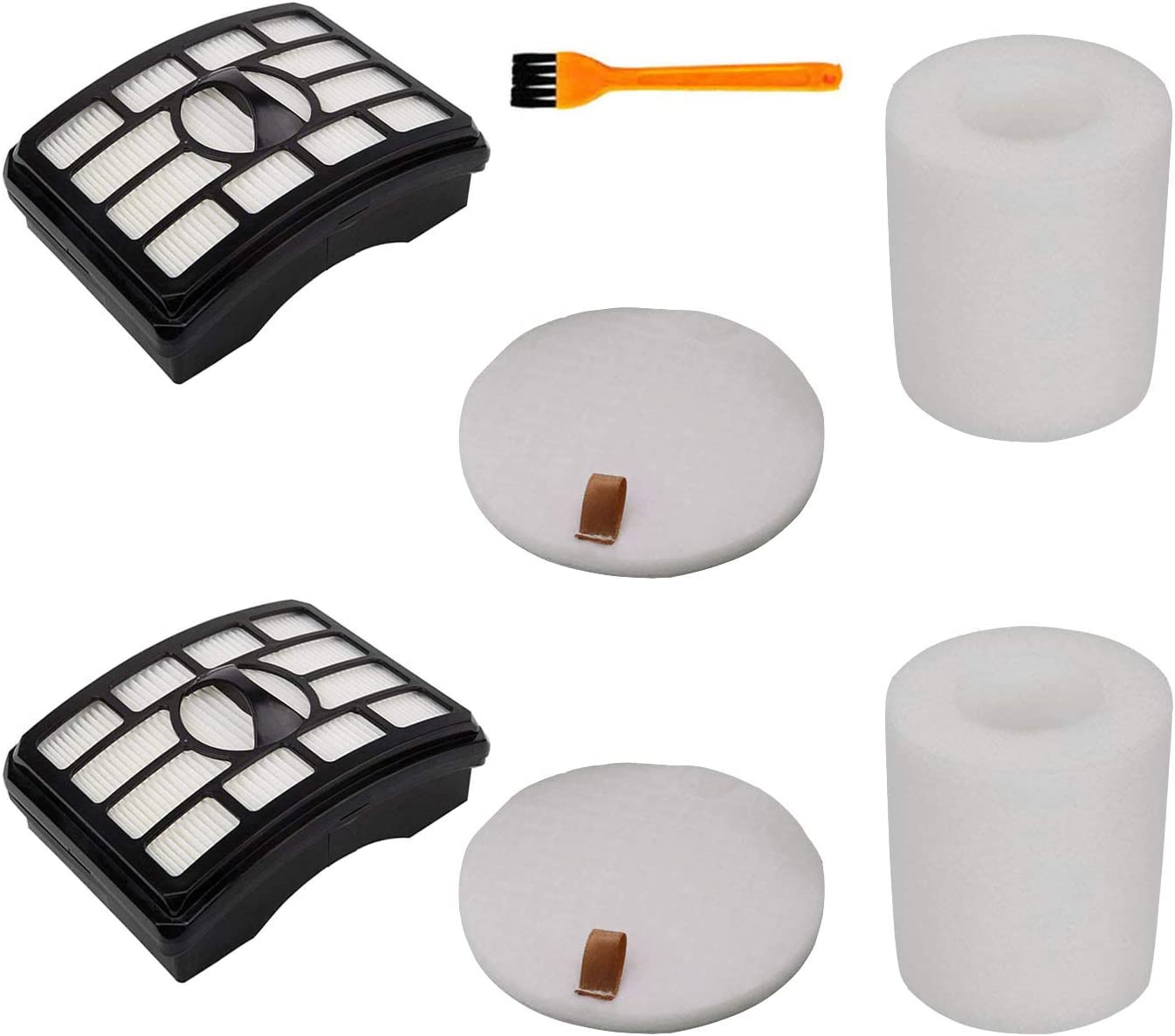 h Life Filters Kit for Shark Rotator Pro Lift-Away NV502 NV552 UV560 NV510 Vacuum Replace Shark Filters Accessories Part XFF500 & XHF500