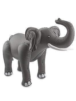 Folat Elefante Gris Hinchable - Accesorios Fiesta Party (75 ...