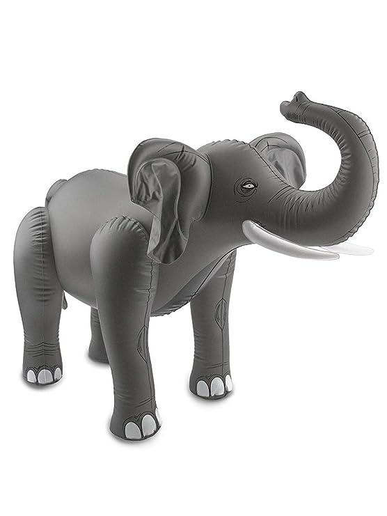 Folat Elefante Gris Hinchable - Accesorios Fiesta Party (75 x 60 ...