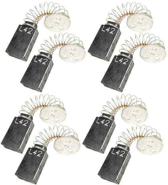 Dewalt 6 Pack of Genuine OEM Replacement Carbon Brushes # 145323-06-6PK
