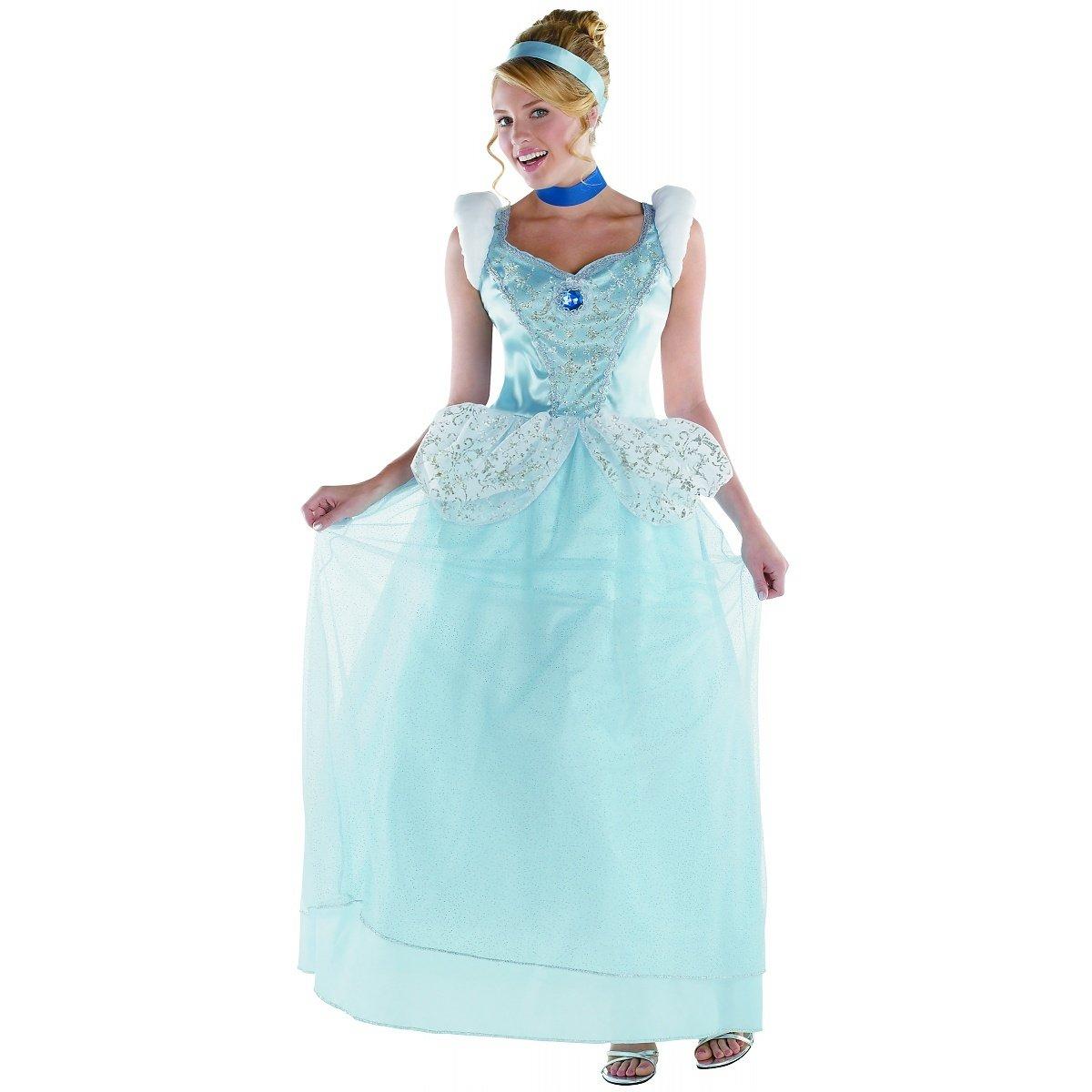 Amazon.com: Disguise Women\'s Disney Cinderella Deluxe Costume: Clothing
