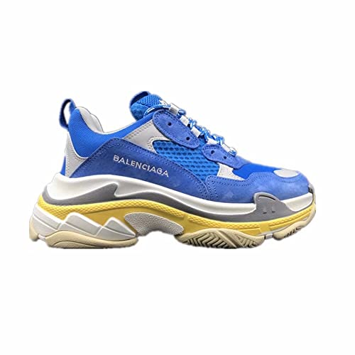 Balenciaga Shoes MenS & WomenS Vintage Triple S Trainers Fashion Sneakers Navy ...