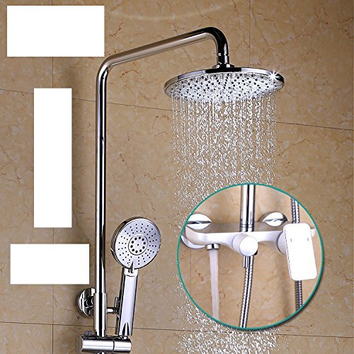 Zxywhite Paint Shower, Luxurious, Bright, Shower Shower Shower Copper Home All