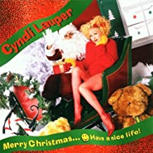 Merry Christmas...Have A Nice Life By Cyndi Lauper (2008-10-20)