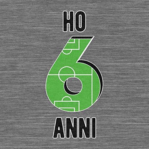 Campo Shirtgeil Regalo 6 Maglietta Bambini Calcio Anni Grigio Da Ho Per Compleanno rTTSqwt