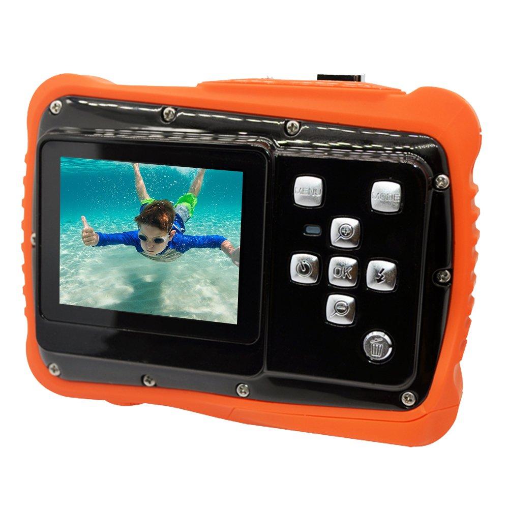 Kids Digital Camera 2.0 TFT Waterproof Dustproof Camera Underwater Action Camera Camcorder for Children DZSJ
