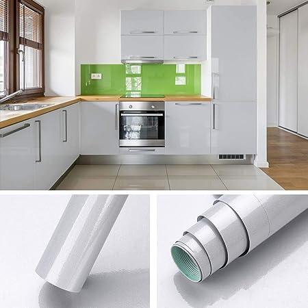Kinlo® 0.61 x 5M Elegante Pegatina de Mueble Cocina Bricolaje La Protección de Armarios PVC