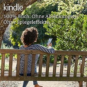 Kindle, 15,2 cm (6 Zoll) Touchscreen (ohne integriertes Licht), WLAN (Schwarz) – mit Spezialangeboten