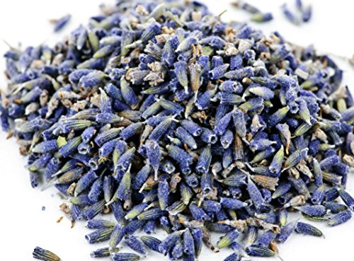 bMAKER Dried Lavender Flowers 4 oz | Edible & Kosher Certified | Great for Cooking, Tea, Wedding and Crafting (Herbs Flowers Dried)