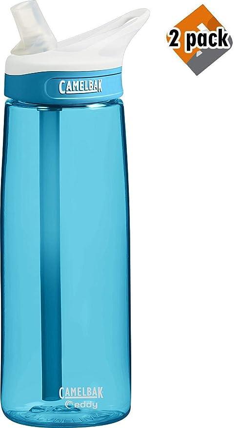 b65b367ca5 Amazon.com : CamelBak Eddy Water Bottle 2 Pack (20oz) : Sports ...