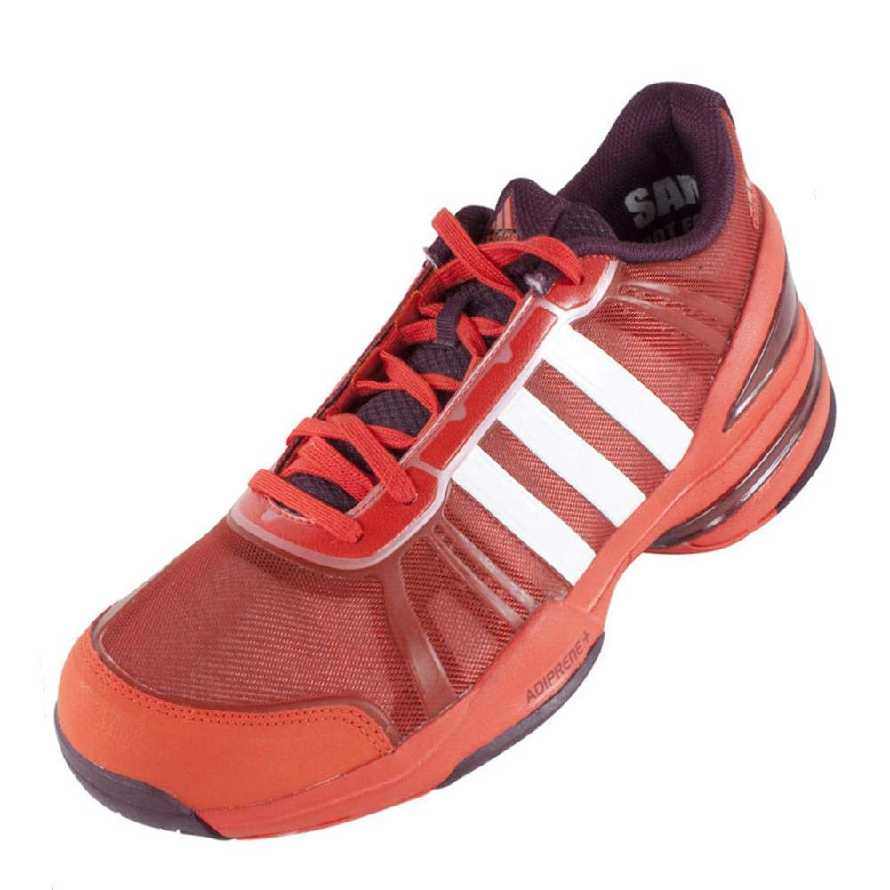 the latest 396fa b27ef Amazon.com   adidas Men`s CC Rally Comp Tennis Shoes Bold Orange and Core  White-(887383859650   Tennis   Racquet Sports