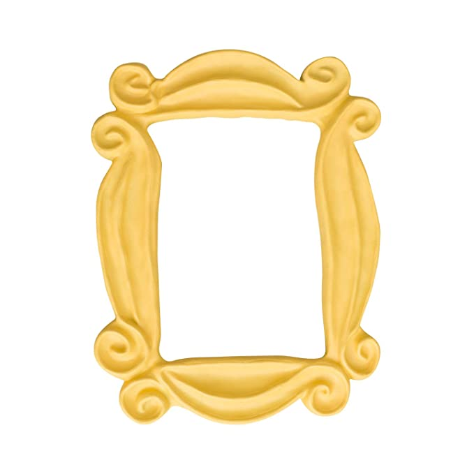 Friends Peephole Yellow Picture Frame Replica
