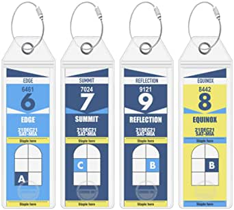 Celebrity Luggage Tag Holders by Cruise On - Fits All Celebrity Ships & Tags for Cruises in 2020 & 2021