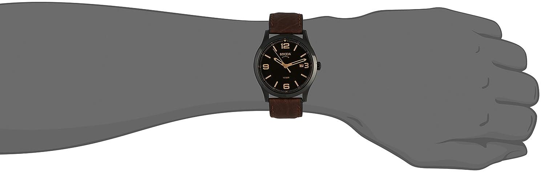 Boccia Reloj HombresCorrea Marrón Cuero Para Color 3583 02 De uPXOZki