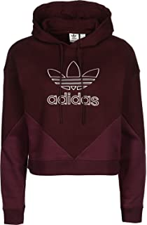 Adidas Es Crop Hoodie Sudaderamujernegro44amazon P80nkwo Trf yvwOmN8n0