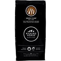 Kicking Horse Coffee, Grizzly Claw, Dark Roast, Whole Bean, 1 lb - Certified Organic, Fairtrade, Kosher Coffee