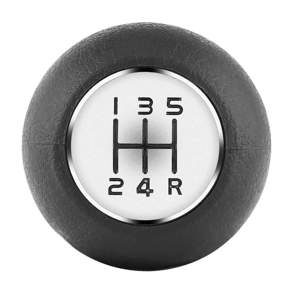 palanca de cambio de palanca de cambio del coche Palanca de palanca para SX4 2005-2010 Negro Perilla de cambio manual de 5 velocidades