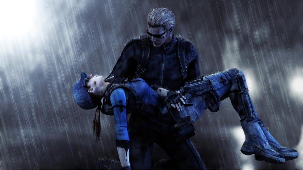 Amazon Com Prague Courtney Game Resident Evil 5 Biohazard 5