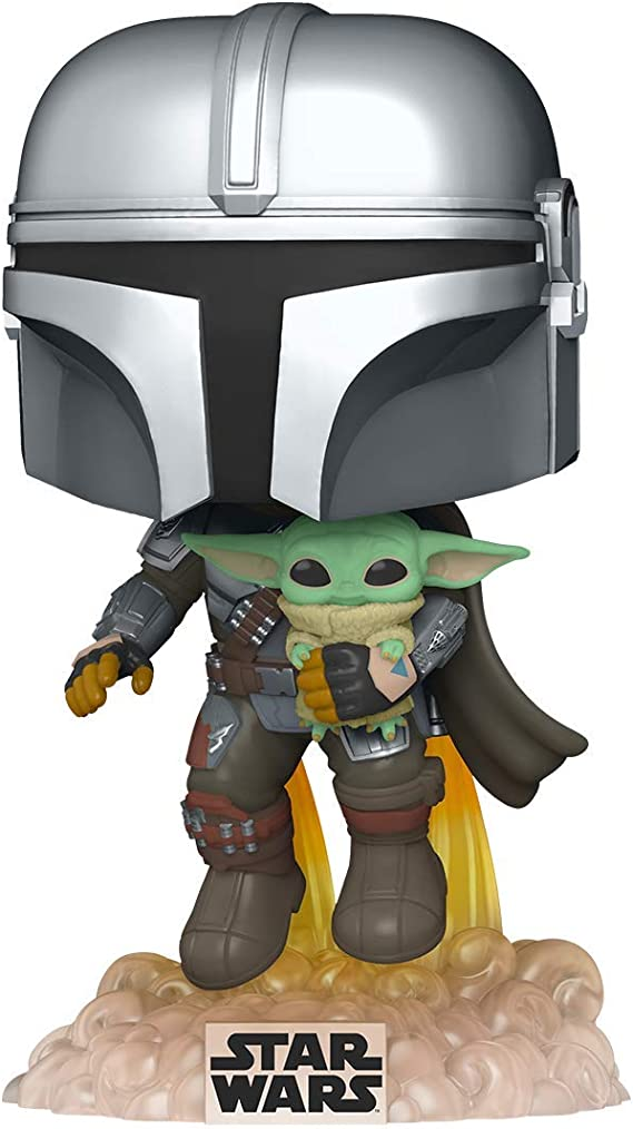 Model Toys FUNKO POP Star Wars The Mandalorian 326# Action Figures Collection