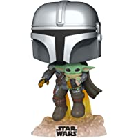 Funko Pop! Star Wars: The Mandalorian- Mando Flying w/Jet Action Figure - 50959