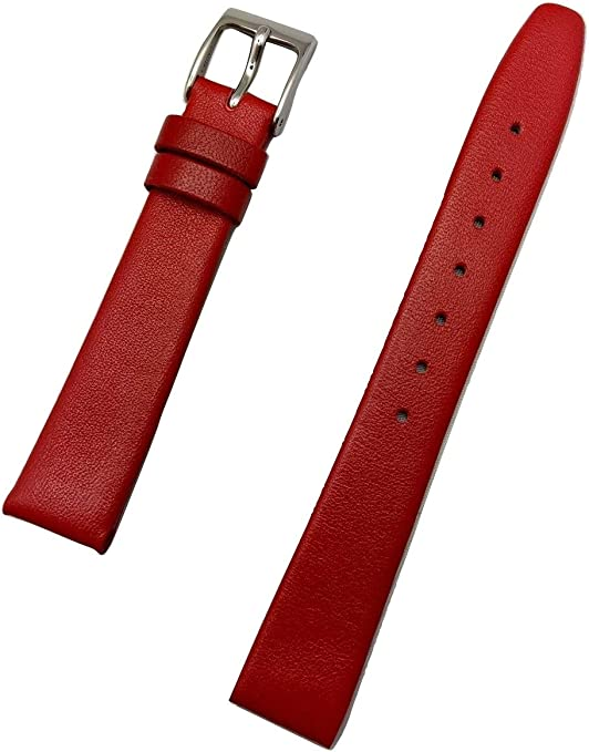 1161W Bright Red Double Fold Flat Leather Strap 6mm 14 inch 20 yards WHOLESALE 6 weeks processing time