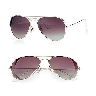 ced6ce41d1 PINGLAS Classic Aviator Sunglasses for Men Women Metal Frame Polarized  Coating Lens