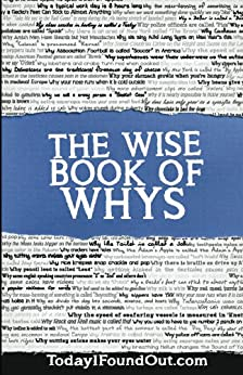 The Wise Book of Whys by [Hiskey, Daven, Today I Found Out.com]