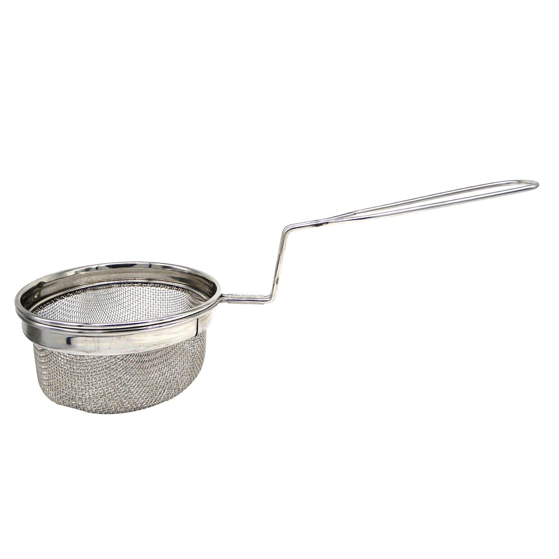 Utensilios de cocina de acero inoxidable, freidora profunda, 14 X 5.5 X 2.5 pulgadas (Plata), Día de Pascua / Día de la Madre / Regalo del Viernes Santo: ...
