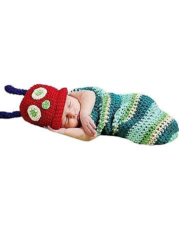 cinnamou Disfraz de Animales Suave Infantil Hecho a Mano de Punto de Lana  recién Nacido del a88033994ca