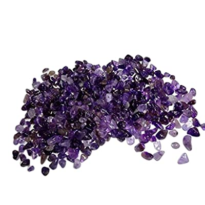 Sublime Gifts Amethyst Chips ( 2 Ounce Package) of Premium Small Tumbled Gemstone Crystal Healing Chips: Toys & Games