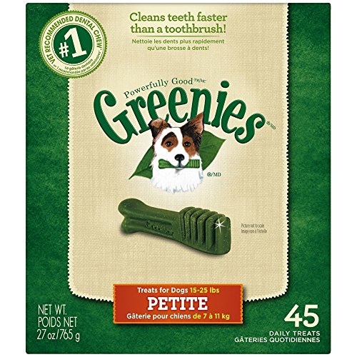 Greenies Treats for Dogs Monster Treat-Pak 45 Petite, 27 oz.