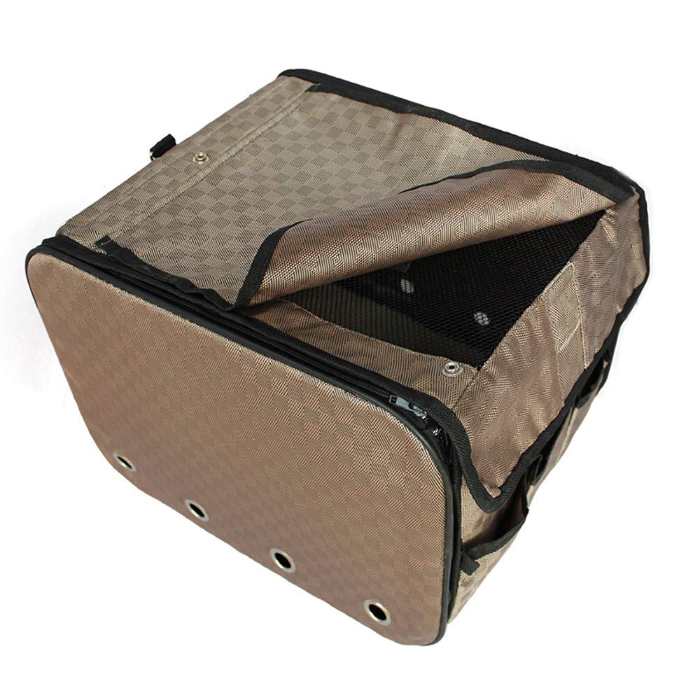 DS- Pet stroller Pet Bag Car Seat Small Pet Car Bag Foldable Pet Anti-dirty Pad Pet Bag 360X360X240mm &&