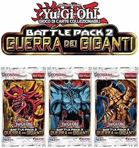 Halifax Yu-Gi-Oh! Battle Pack Guerra Gigan.Busta - Juego de Tablero: Amazon.es: Juguetes y juegos