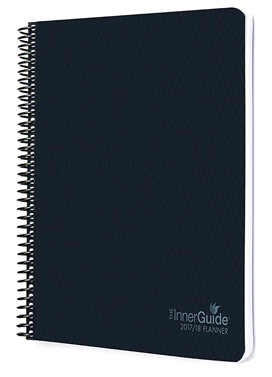 InnerGuide 2017-18 Goal & Success Planner - Increase Mindfulness, Productivity & Happiness. Weekly & Monthly Organizer, Appointment Book & Journal, ...