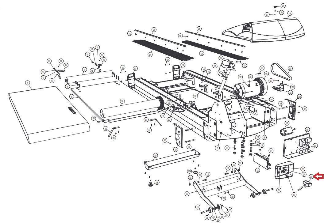 Treadmill Motor Wiring