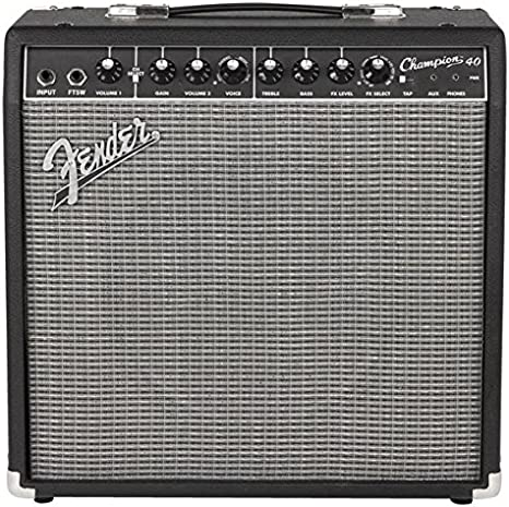 Amplificador de guitarra Fender Champion 40, 40 W 1x12: Amazon.es ...
