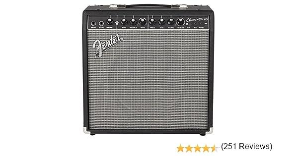 Amplificador de guitarra Fender Champion 40, 40 W 1x12: Amazon.es ...