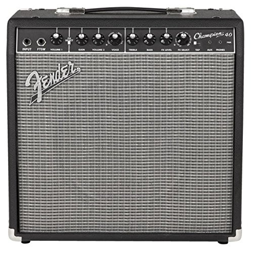 Fender Champion 40 - 40-Watt Electric Guitar Amplifier (Mustang Electric Fender Guitar)