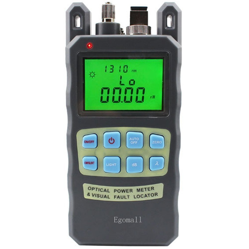 DAXGD All-IN-ONE Fiber optical power meter -70 to +10dBm and 1mw 5km Fiber Optic Cable Tester Visual Fault Locator