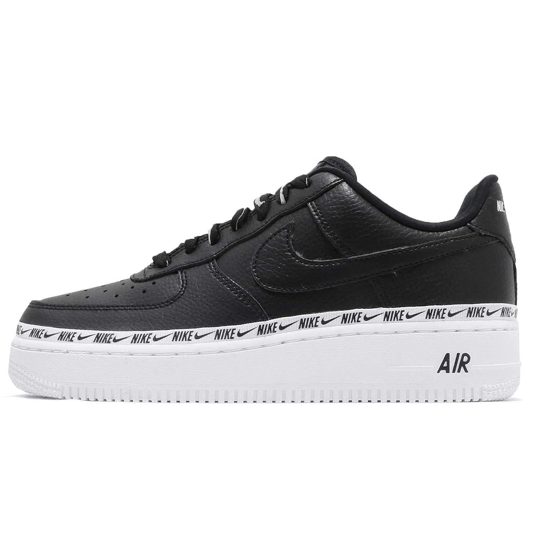 online store a4555 81a41 Nike Women's WMNS Air Force 1 07 SE PRM, Black/Black-White, Size 9
