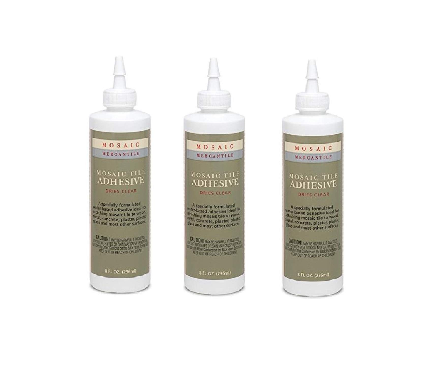Mosaic Mercantile ADH-8 8-Ounce Adhesive (3 Pack)