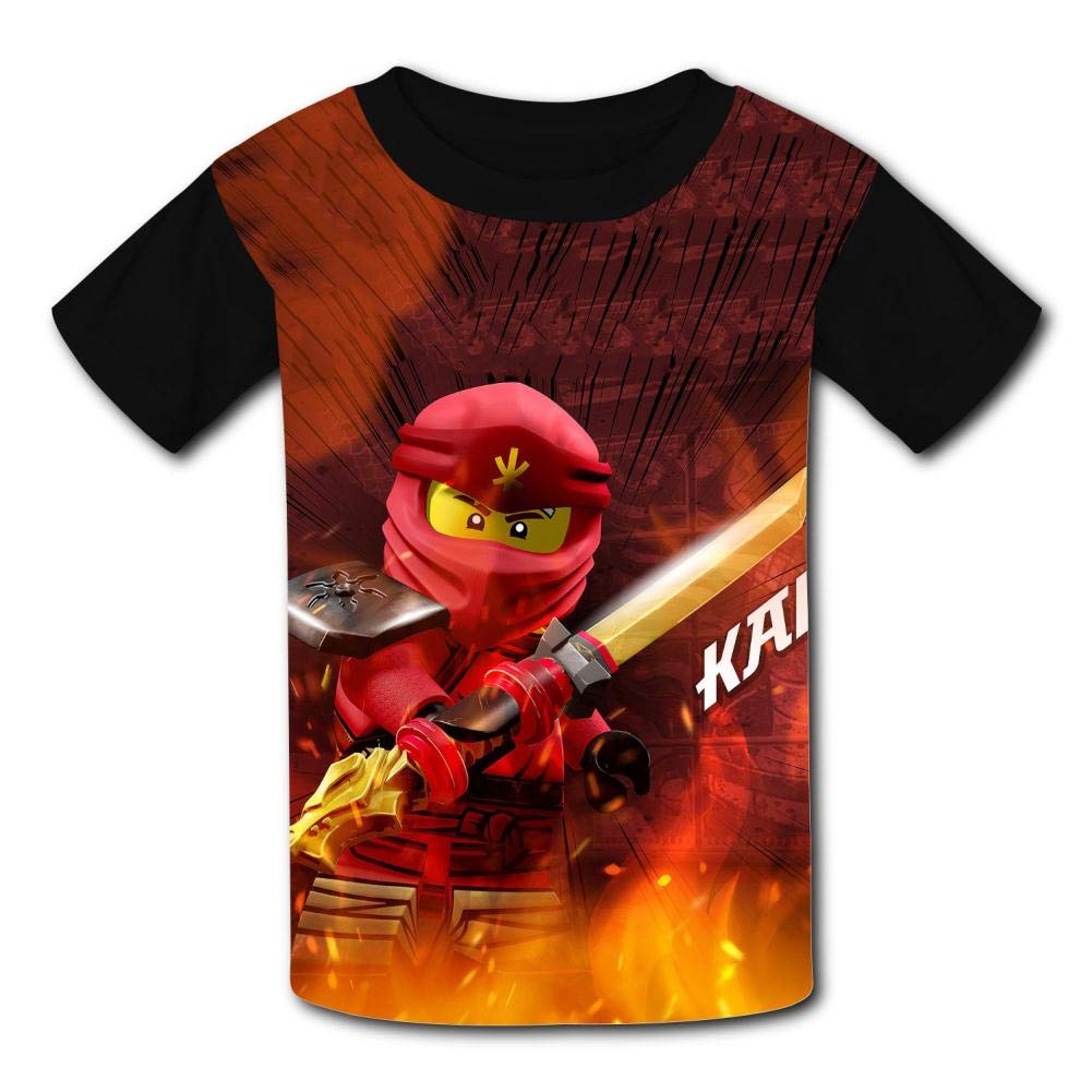 PL/_COCO7 Kids Unisex Fire/_Kai T Shirt Teens Tees Children Short Sleeve Shirt for Boy Girl