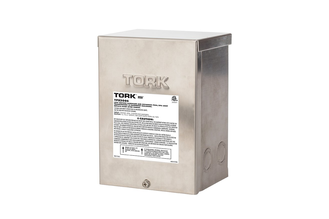 NSi Industries TPX300S Stainless steel Pool Light Transformer, 300W by NSI