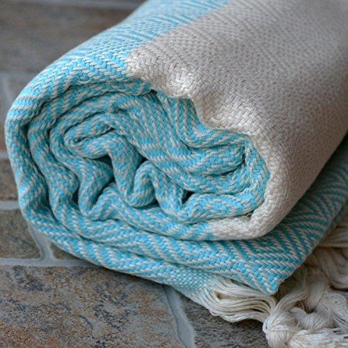 Dandelion Textile Naturally Dyed Peshtemal 71x39 Inch product image