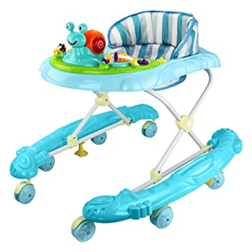 Amazon.com : baby trotteur folding baby walker baby scooters walkers wheels correpasillos bebe juguete baby wheel walker : Baby
