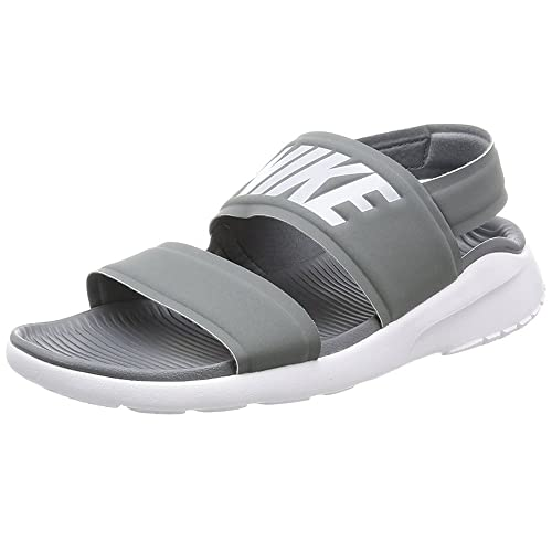 buy online e13c2 87c29 NIKE Tanjun Sandal Cool Grey White Pure Platinum Women s Shoes   Amazon.co.uk  Shoes   Bags