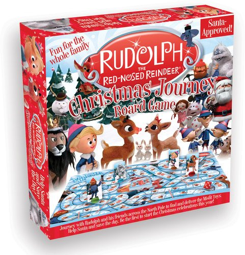 Aquarius Rudolph The Red Nosed Reindeer Christmas Journey Board Game