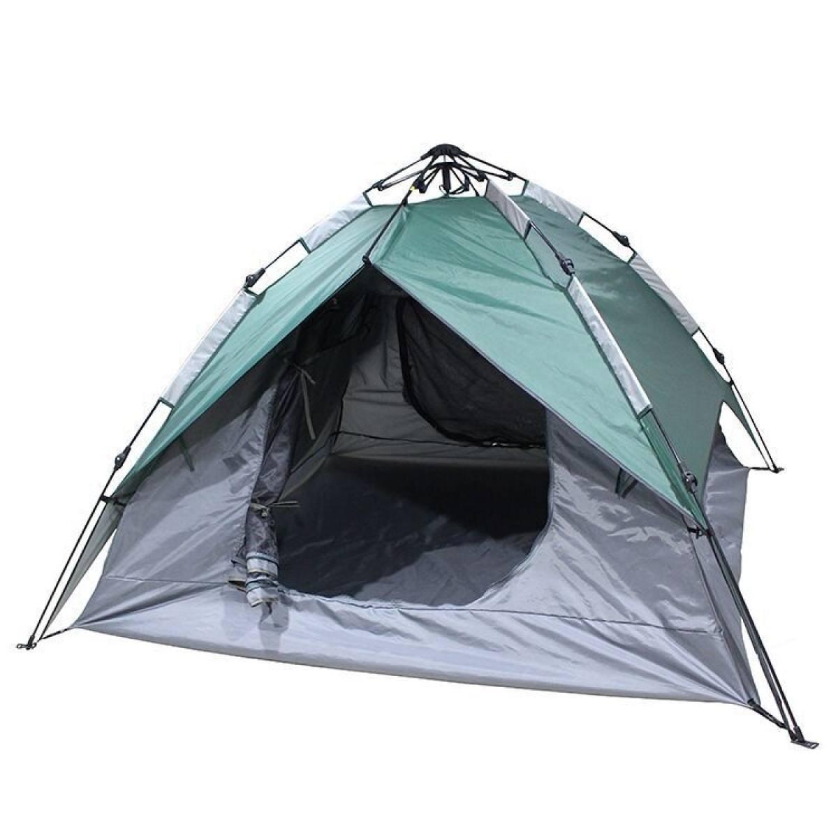 BFMEI Doppel Automatisches Hydraulisches Zelt Multi-Funktions-Outdoor-Reisen Camping-Zelte,215x215x135cm-Grün